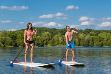 Le paddle, une activité nautique excitante à Casteljaloux
