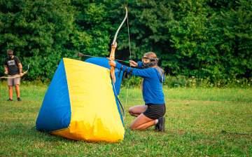 Archery tag à Casteljaloux