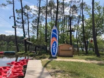 Le Big Stand Up Paddle sur le lac de Clarens