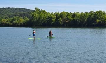 Balade en paddle à Casteljaloux