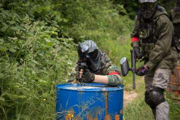 Paintball à Casteljaloux